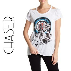 The WHO Graphic Band Tee